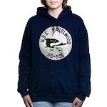 USS HAZELWOOD Women's Hooded Sweatshirt