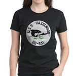 USS HAZELWOOD Women's Dark T-Shirt