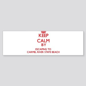 Keep calm by escaping to Carmel River State Beach