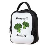 Broccoli Addict Neoprene Lunch Bag