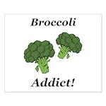 Broccoli Addict Small Poster