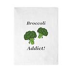 Broccoli Addict Twin Duvet