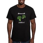 Broccoli Addict Men's Fitted T-Shirt (dark)