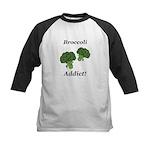 Broccoli Addict Kids Baseball Jersey
