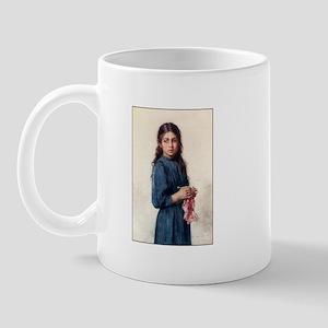 Girl Knitting - The Little Kn Mug