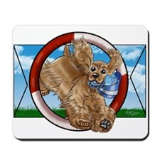 Buff Cocker Spaniel Mousepad