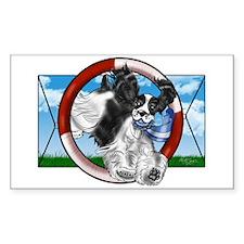 Parti Cocker Spaniel Sticker