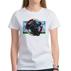 Black Cocker Spaniel Women's T-Shirt