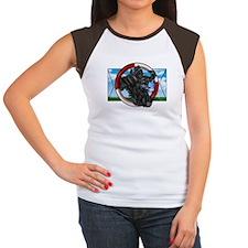 Black Cocker Spaniel Women's Cap Sleeve T-Shirt