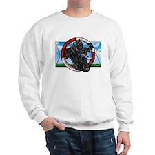 Black Cocker Spaniel Sweatshirt