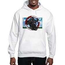 Black Cocker Spaniel Hooded Sweatshirt