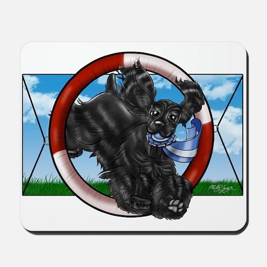 Black Cocker Spaniel Mousepad