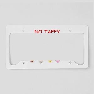 salt water taffy License Plate Holder