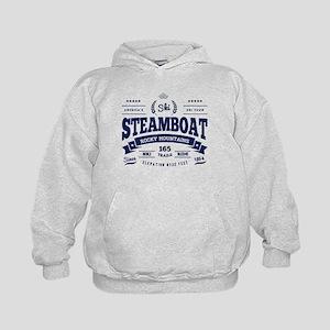 Steamboat Vintage Kids Hoodie