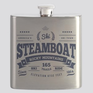 Steamboat Vintage Flask