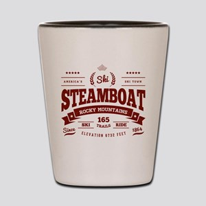 Steamboat Vintage Shot Glass
