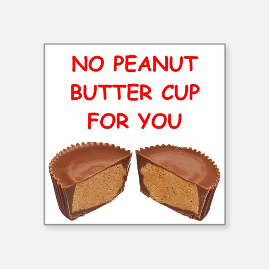 peanut butter cup Sticker