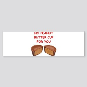 peanut butter cup Bumper Sticker