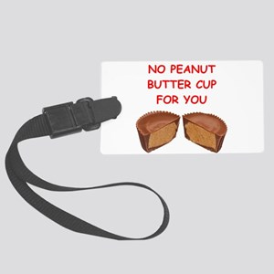 peanut butter cup Luggage Tag