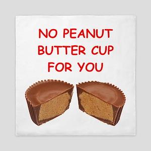 peanut butter cup Queen Duvet