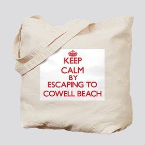 Keep calm by escaping to Cowell Beach California T