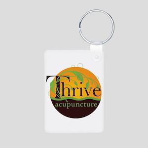 Thrive Acupuncture Logo Keychains