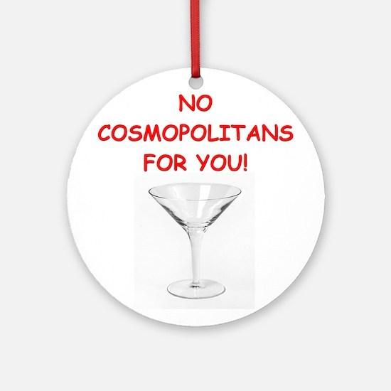 cosmopolitan Ornament (Round)