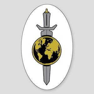 ENTERPRISE Sword Sticker (Oval)