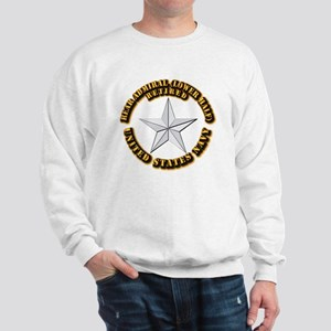 Navy - Rear Admiral (lower half) - O-7 Sweatshirt