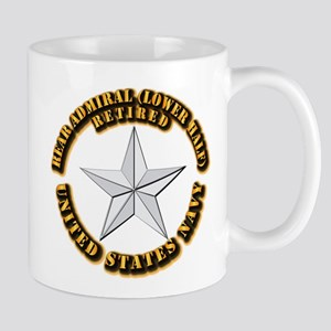 Navy - Rear Admiral (lower half) - O-7 Mug