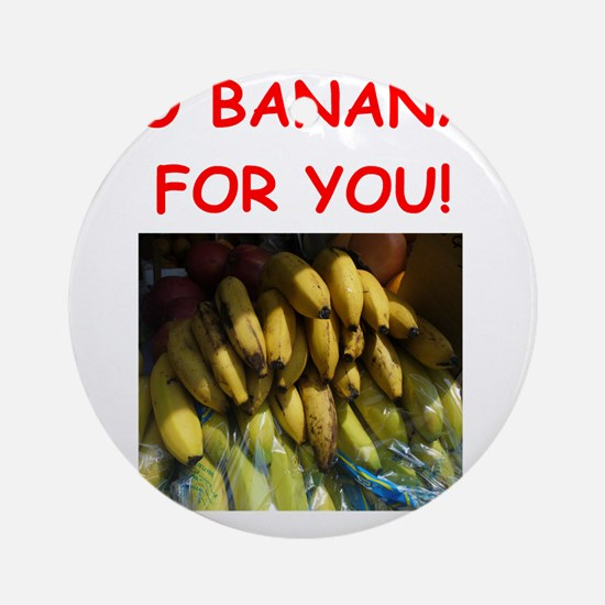 banana Ornament (Round)