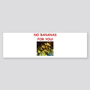 banana Bumper Sticker