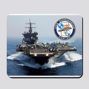 USS Enterprise CVN-65 Mousepad