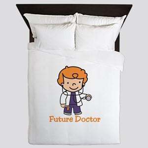 Future Doctor Queen Duvet