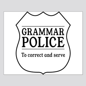 grammar police Posters