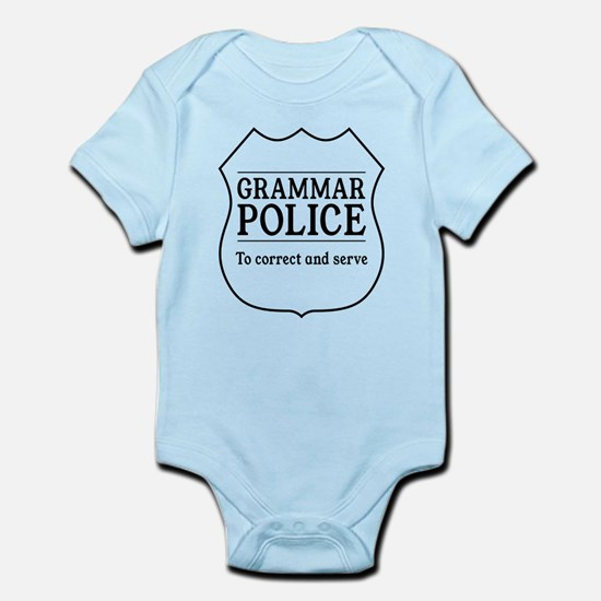 grammar police Body Suit