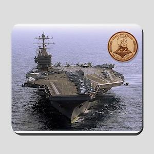 USS Abraham Lincoln CVN-72 Mousepad