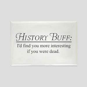 History buff Magnets