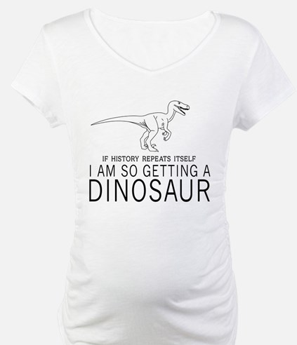 history repeats dinosaur Shirt