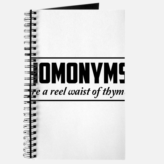 homonyms reel waist of thyme Journal