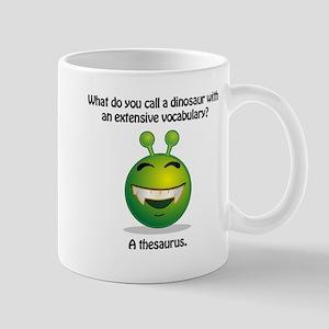 Punny Alien Thesaurus Mugs