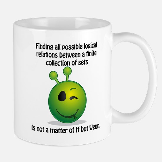 Punny Alien Venn Mugs