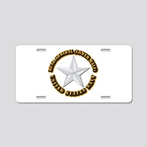 Navy - Rear Admiral (lower Aluminum License Plate
