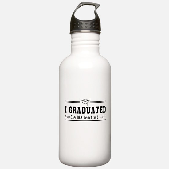Graduated, now im smart Water Bottle