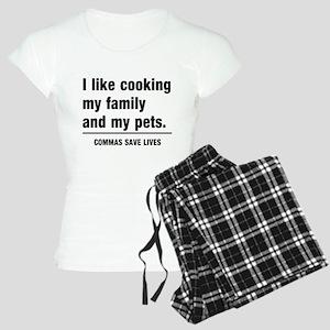 Commas save lives Pajamas