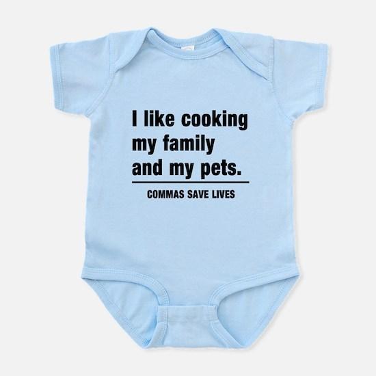 Commas save lives Body Suit