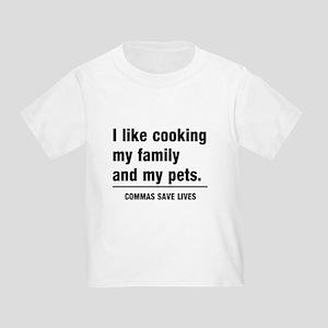Commas save lives T-Shirt