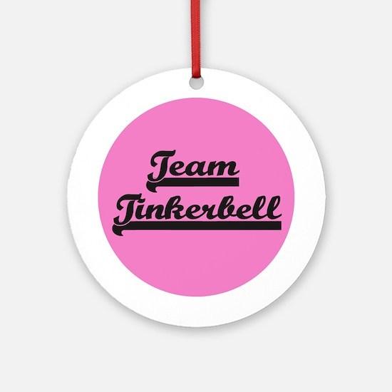 Team Tinkerbell - Paris Dog Ornament (Round)