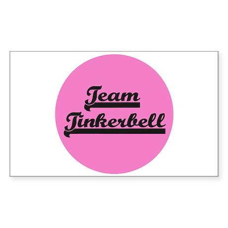 Team Tinkerbell - Paris Dog Rectangle Sticker