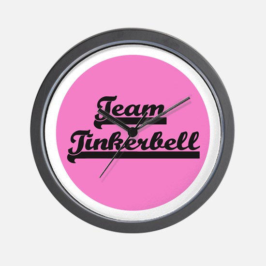 Team Tinkerbell - Paris Dog Wall Clock